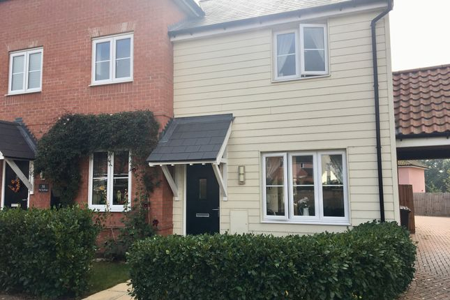 Thumbnail End terrace house for sale in The Sandlings, Martlesham