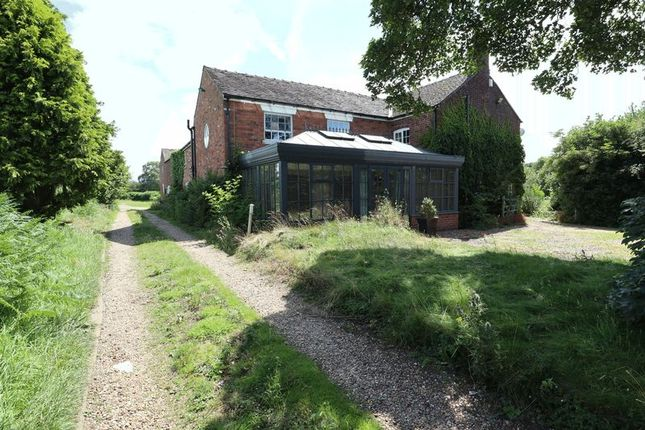 Thumbnail Farmhouse for sale in Paddock House Farm, Back Lane, Somerford