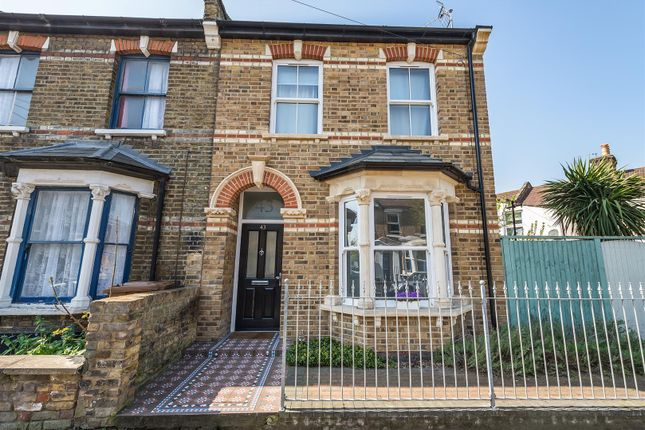 Thumbnail End terrace house for sale in Elsham Road, London