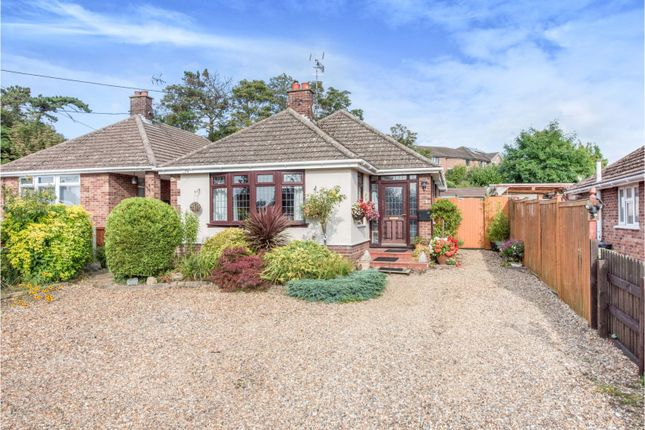 3 bed detached bungalow for sale in Priory Park, Thetford IP24