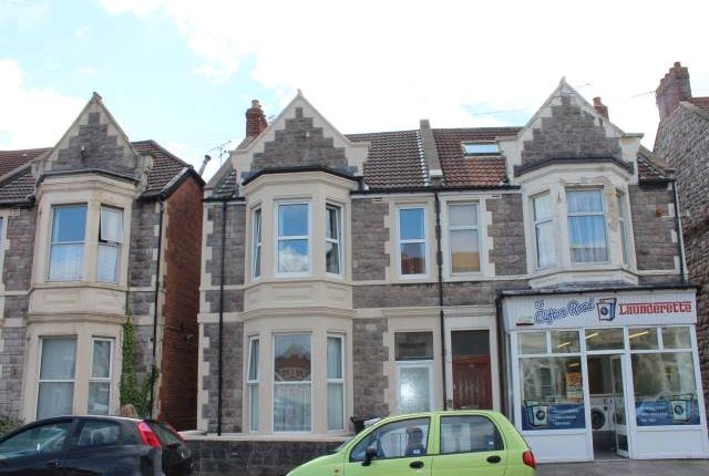 Thumbnail Flat to rent in Clifton Road, Weston-Super-Mare, North Somerset