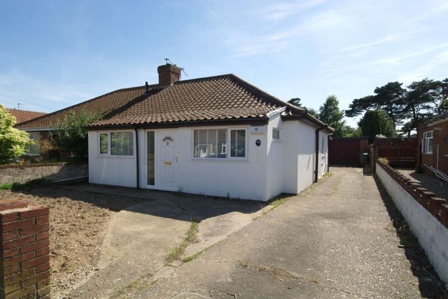 Thumbnail Bungalow for sale in Woodland Road, Hellesdon, Norwich
