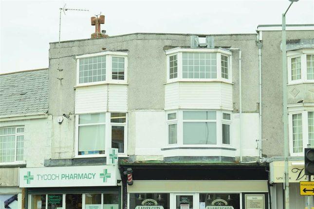 Thumbnail 2 bed flat for sale in Tycoch Road, Sketty, Swansea