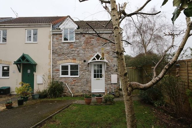 Thumbnail End terrace house for sale in 22, Old Station Close, Cheddar, Somerset