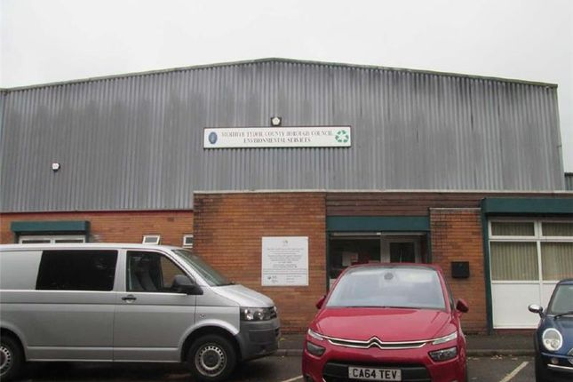 Thumbnail Warehouse to let in Unit 4, Merthyr Tydfil Industrial Park, Pentrebach, Merthyr Tydfil, Wales, UK