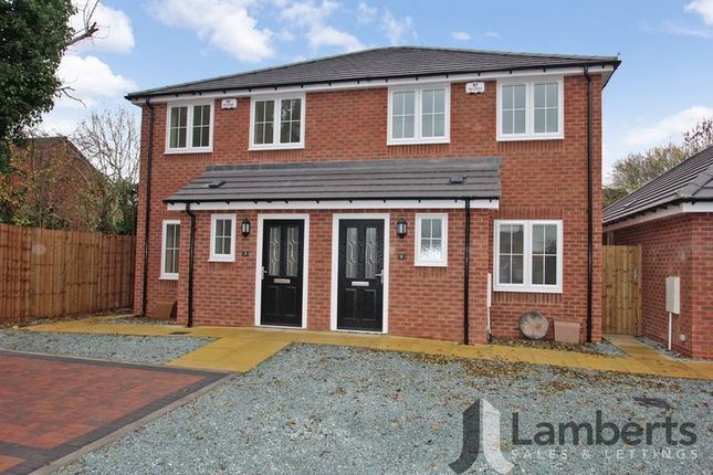 Thumbnail Semi-detached house for sale in Railway Close, Studley