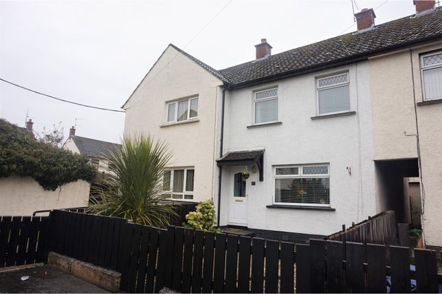 Thumbnail Terraced house for sale in Glenfield Close, Crumlin
