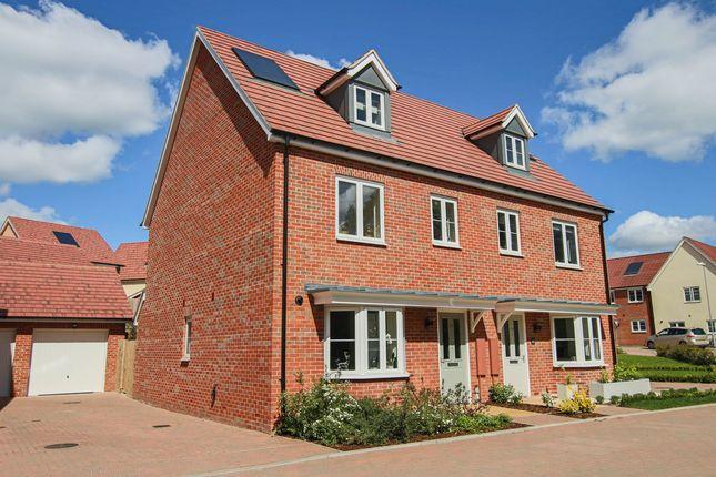 Thumbnail Semi-detached house for sale in Strachey Close, Saffron Walden