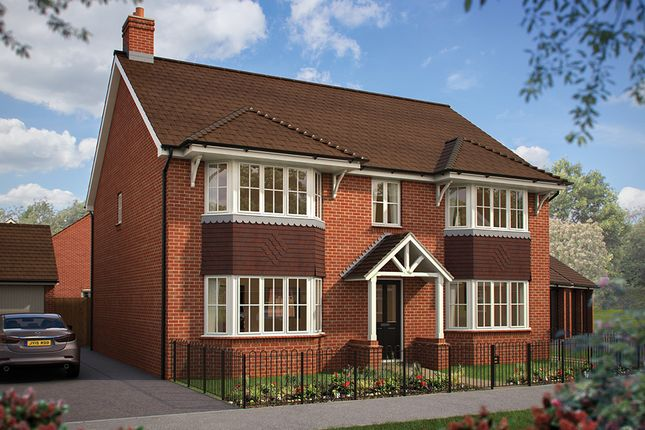 "Thumbnail Detached house for sale in ""The Ascot"" at Southam Road, Radford Semele, Leamington Spa"