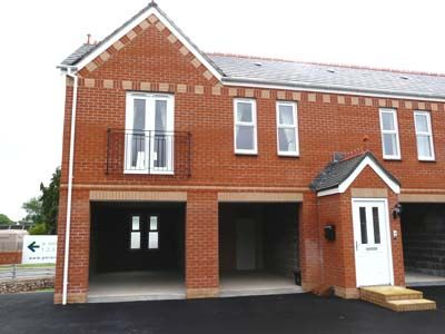 Thumbnail Semi-detached house to rent in Millennium Way, Cullompton