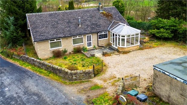 Thumbnail Detached bungalow for sale in Hillcrest, Greenhead, Cumbria.