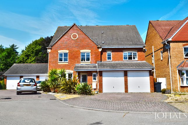 Thumbnail Detached house for sale in Wetherby Close, Leicester