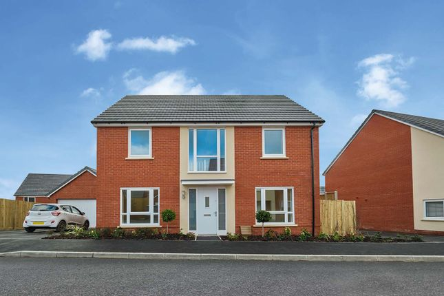 "Thumbnail Detached house for sale in ""The Bradenstoke V1"" at Amesbury Road, Longhedge, Salisbury"