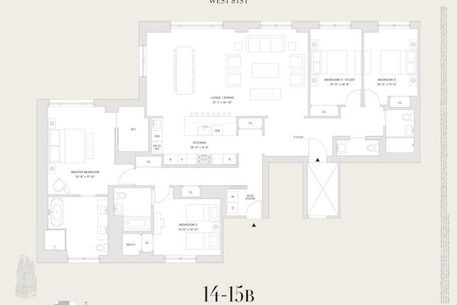 <Alttext/> of 250 West 81st Street, New York, New York State, United States Of America