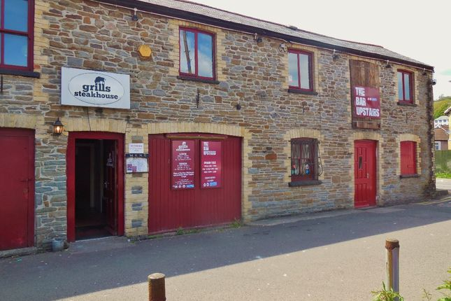 Thumbnail Restaurant/cafe to let in Grills Steak House, Rear Of The Llanover Arms, Bridge Street, Pontypridd