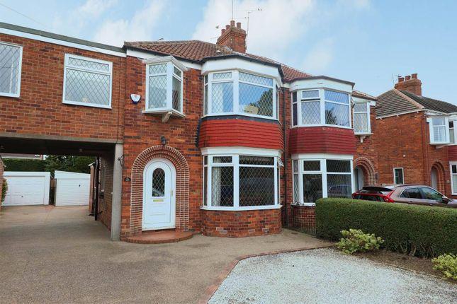 4 bed semi-detached house for sale in Tweendykes Road, Sutton-On-Hull, Hull HU7
