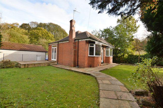 Thumbnail Detached bungalow for sale in The Bungalow, Butcher Hill, Horsforth, Leeds, West Yorkshire