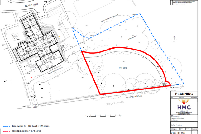 Thumbnail Land for sale in Yafforth Road, Northallerton