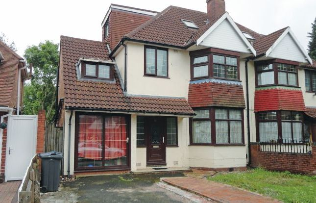 Thumbnail Semi-detached house for sale in 33 Wellesbourne Road, Handsworth, Birmingham, West Midlands