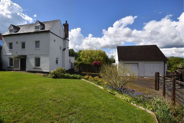 Thumbnail Detached house for sale in Parkway, Ledbury
