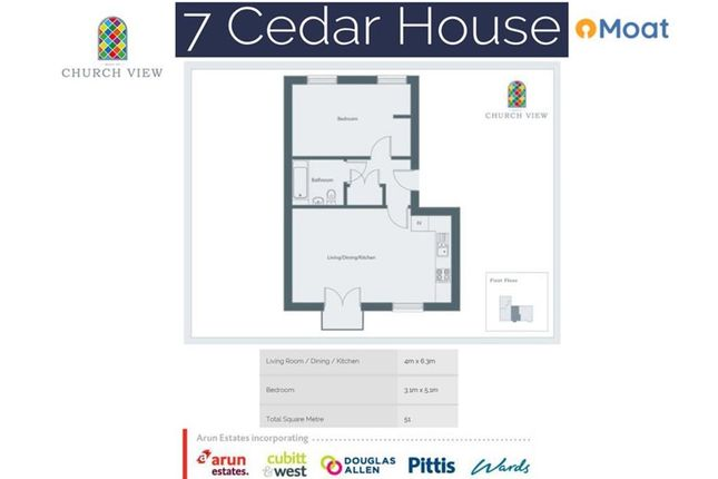 Floor Plan of Church View, Tenterden, Kent TN30