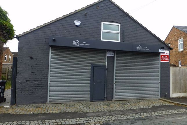 Thumbnail Light industrial for sale in Henry Street, Crewe, Cheshire