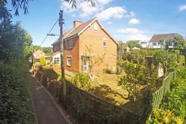 Thumbnail Semi-detached house for sale in Underhill, Lympstone, Exmouth