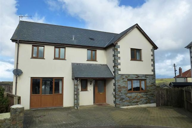 Thumbnail Detached house for sale in Goaman Park, Hartland, Bideford, Devon