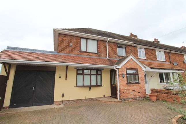 Thumbnail Semi-detached house to rent in Brookfield Road, Aldridge, Walsall