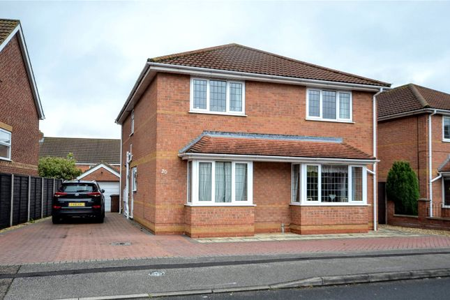 Thumbnail 4 bed detached house for sale in Garrick Lane, New Waltham