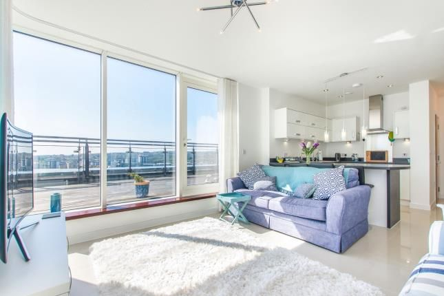 Thumbnail Flat for sale in Pendeen House, Ferry Court, Cardiff, Caerdydd