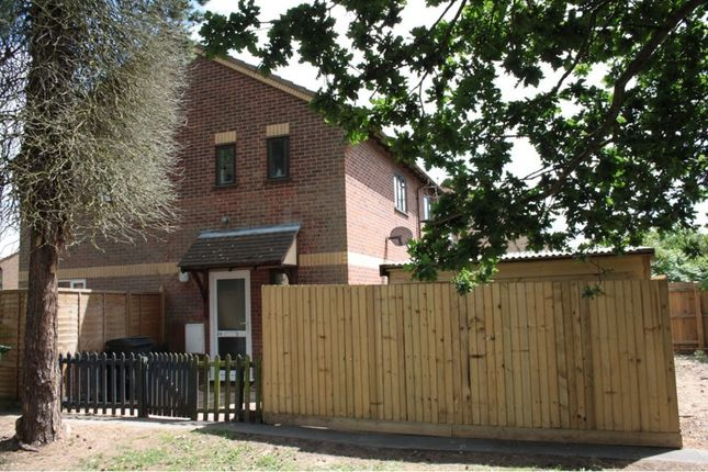 Thumbnail End terrace house to rent in Thyme Close, Thetford