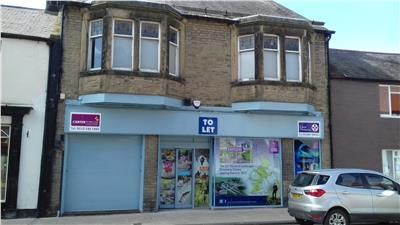Retail premises to let in 45-47, High Street, Wooler, Northumberland