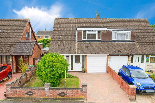 Semi-detached house for sale in Rannoch Way, Corby