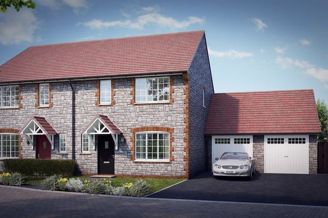 "Thumbnail Property for sale in ""The Hartley"" at Knight Road, Wells"