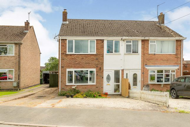 Thumbnail Semi-detached house for sale in Linley Road, Southam