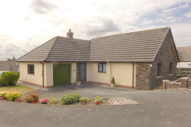 Thumbnail Detached bungalow for sale in West Lane Close, Keeston, Haverfordwest