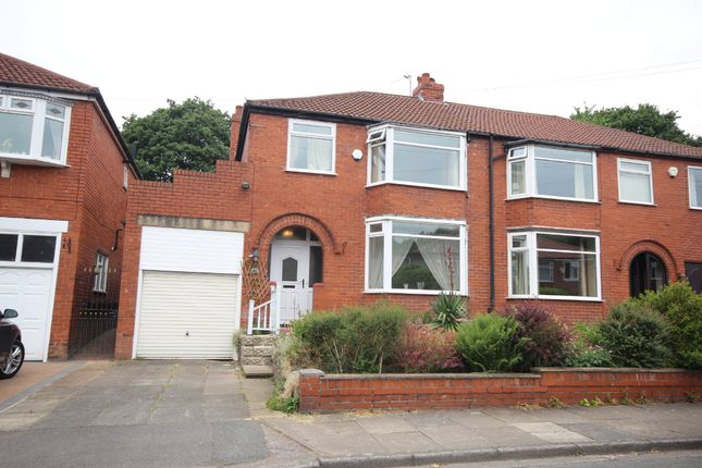 Thumbnail Semi-detached house for sale in Kingsway, Worsley, Manchester