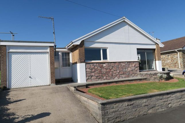 Thumbnail Detached bungalow for sale in Longlands Drive, Heybrook Bay, Plymouth, Devon
