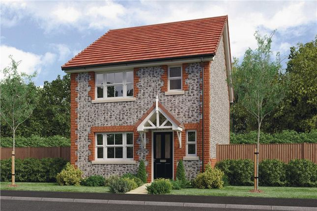"""Thumbnail Semi-detached house for sale in """"Melbourne"""" at Clappers Lane, Bracklesham Bay, Chichester"""