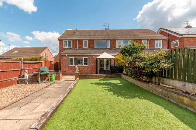 Thumbnail Semi-detached house for sale in Belvedere Avenue, Walton, Chesterfield