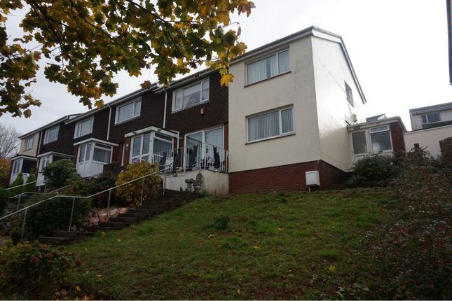 Thumbnail End terrace house for sale in Waterleat Avenue, Paignton