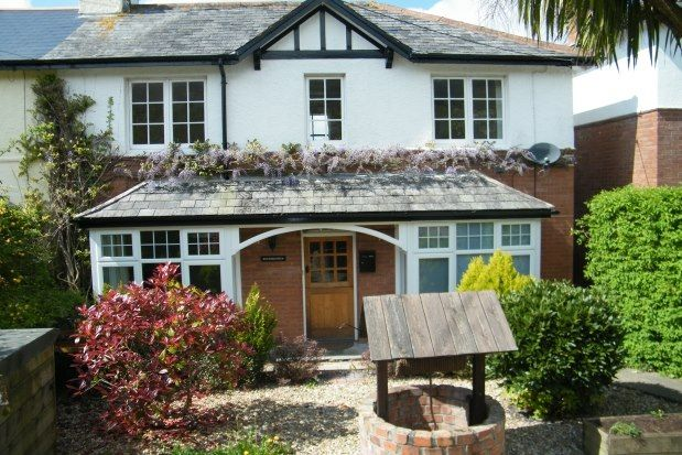 Thumbnail Property to rent in Fortescue Road, Sidmouth