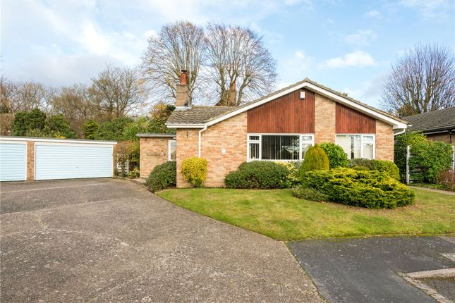 Thumbnail Detached bungalow for sale in Birchfield Grove, Epsom, Surrey