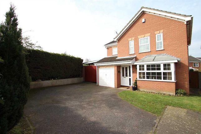 Thumbnail Detached house for sale in Hazel Drive, Purdis Farm, Ipswich