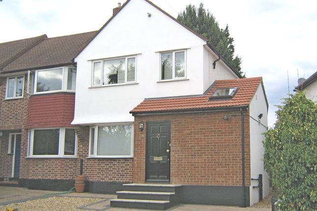 3 bed end terrace house to rent in Pembury Avenue, Worcester Park