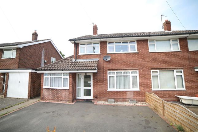 Thumbnail Semi-detached house for sale in Brookdale, Hadley, Telford