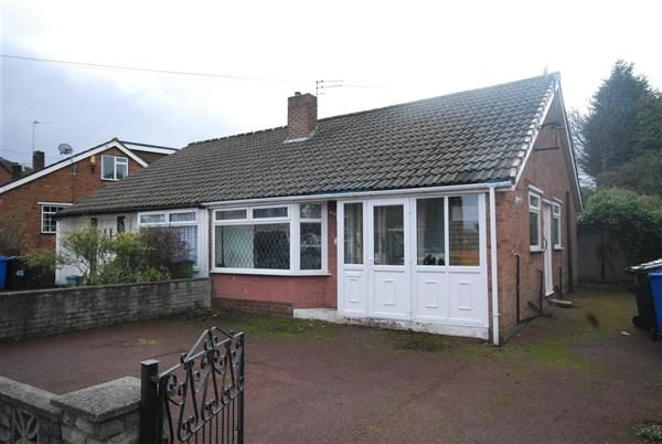Thumbnail Bungalow to rent in Roundthorn Road, Alkrington, Manchester