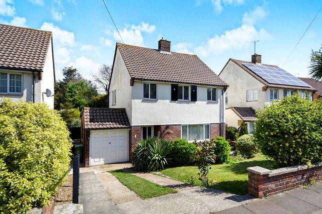 Thumbnail Detached house for sale in Framfield Way, Eastbourne