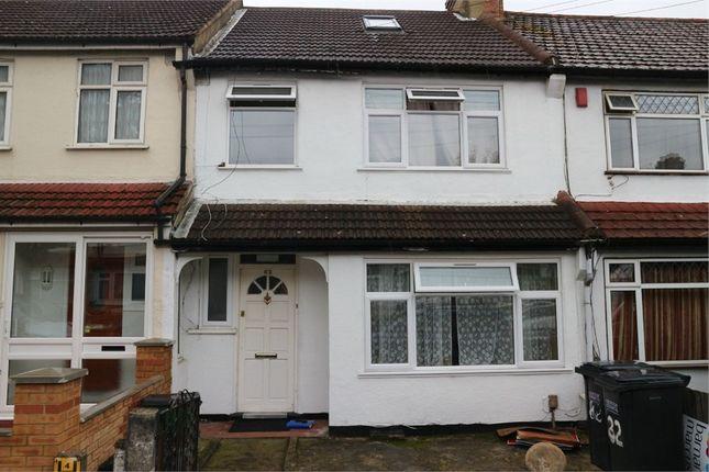 Thumbnail Terraced house for sale in Harcourt Road, Thornton Heath, Surrey